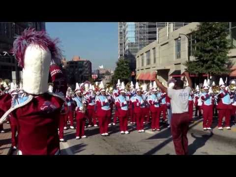 Talladega College Marching Band Turn Up The Power!!!