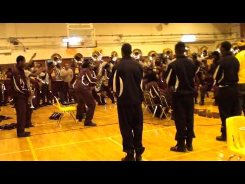 TALLADEGA COLLEGE & OAKHAVEN HIGH - THUGGISH RUGGISH BONE 2013