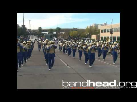 Sophie B. Wright Playing During Bayou Classic Parade 2013