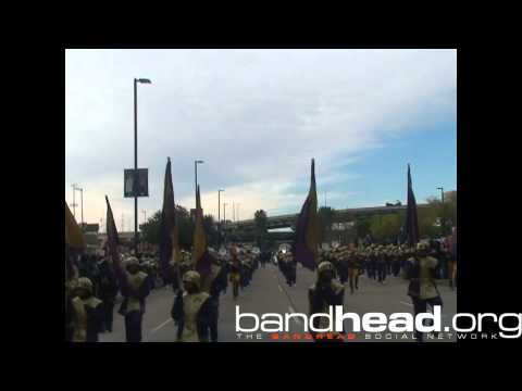 St. Aug During Bayou Classic Parade 2013