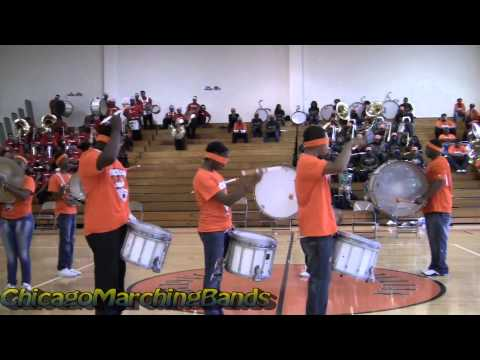 Julian H.S Drum Line (2013) Band Royal Rumble