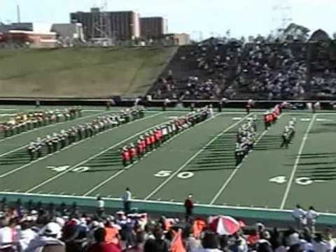 Langston University Marching PRIDE Band  2004