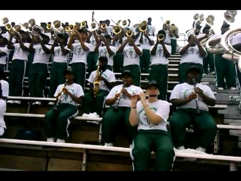 "MVSU Band 2014 ""Im Your Baby Tonight"""