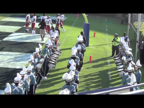 Jackson State Marching In vs Grambling 2014