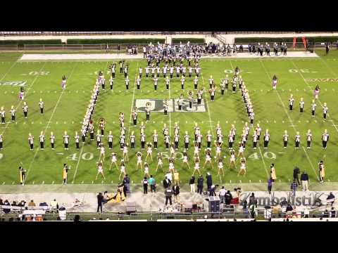 Prairie View A&M Marching Storm (2014) - Halftime Drill vs JSU