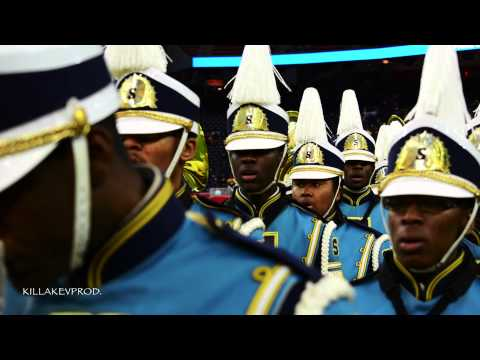 Southern University Marching Band - Entrance - 2014