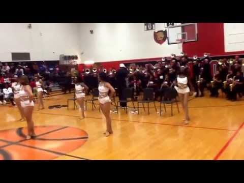 "Donaldsonville High School Marching Band - ""Seems Like You're Ready"" 2014"
