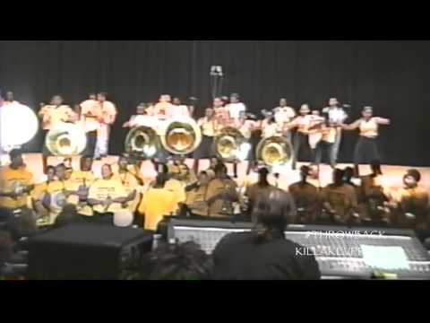 Spain Middle School Alumni Marching Band - I Like It - 2001 #throwback