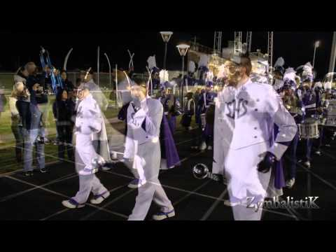 Sunset HS & Lincoln HS - Marching Out Royal BOTB - (2014)