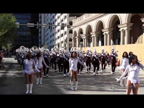TxSU Ocean of Soul - Houston MLK Parade (2015)
