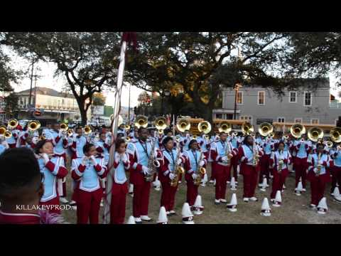 Talladega College Marching Band - Ain't No Mountain @ 2015 Hermes Parade