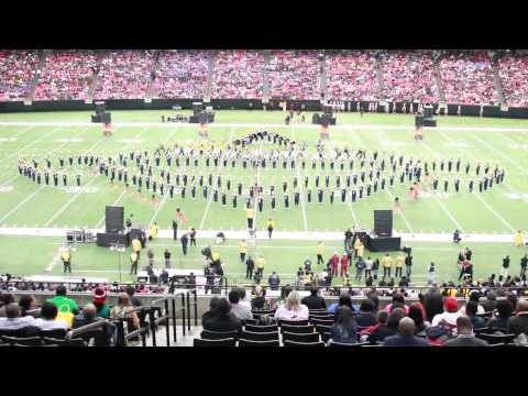NCAT Blue & Gold Marching Machine - Fire & Desire (2015)