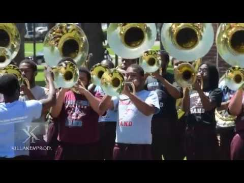 Talladega College Marching Band - I Got 5 On It - 2015
