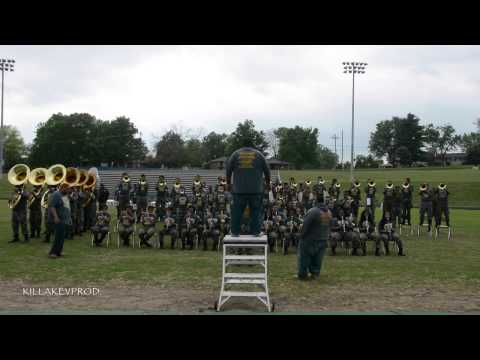Hunters Lane v.s. Whitehaven High School Marching Band - Round 9 - 2015