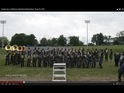 Hunters Lane v.s. Whitehaven High School Marching Band - Round 16 - 2015