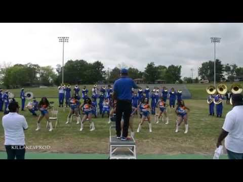 Hunters Lane v.s. Whitehaven High School Marching Band - Round 2 - 2015