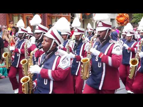 "South Carolina State University ""Marching 101"" @ 2015 MEAC/SWAC Challenge Disney Parade"
