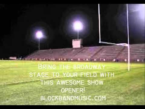 """""""Dreamgirls Theme"""" for Marching Band by Block Band -  Group Size A"""