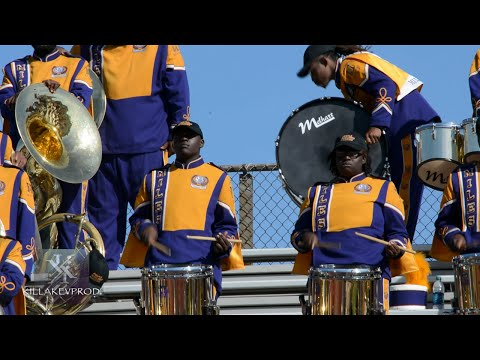 Miles College v.s. Central State - Percussion Battle - 2015