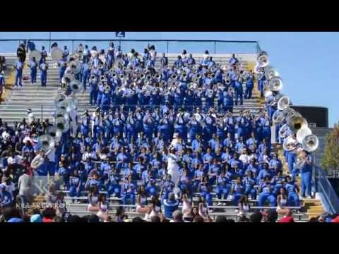 Tennessee State University Marching Band - Getting It On - 2015