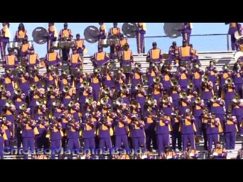 Miles College PMM vs Central State Band 2015 - 5th Quarter