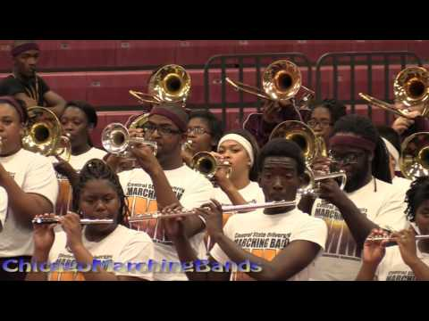 Band Brawl Central State vs Miles College part 1