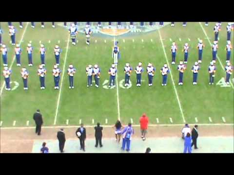 Albany State MRSB Field Show vs Fort Valley 11 08 2015