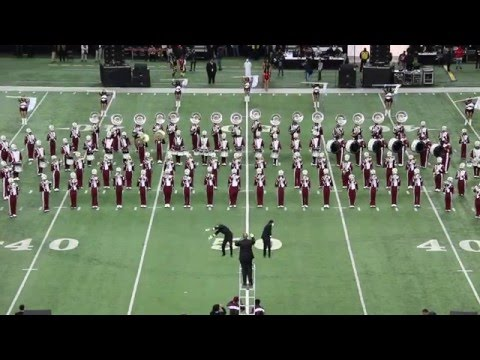 Alabama A&M University Marching Maroon & White - Honda Battle of the Bands (2016)