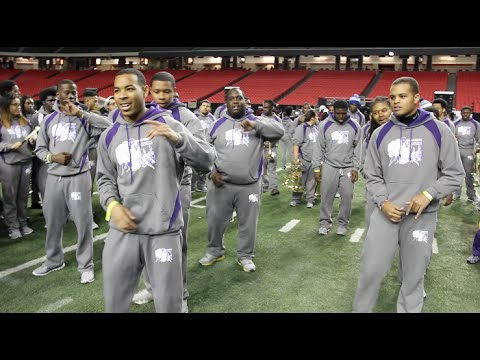 PVAMU Delta Psi & Alcorn Iota Beta - Kappa Kappa Psi Fraternity at Honda Mass Band Practice (2016)