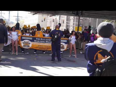 North Carolina A&T University (Blue & Gold Marching Machine) Mardi Gras 2016