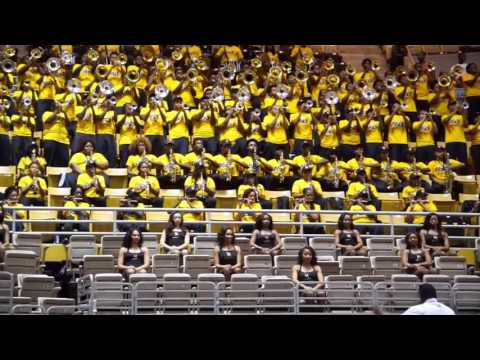 "2016 ASU Jamboree- Mighty Marching Hornets performing ""AREA CODES"""