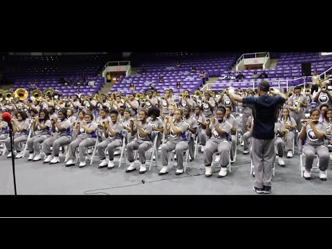Spain by Dr. O'neill Sanford performed by the PVAMU Marching Storm (2015)