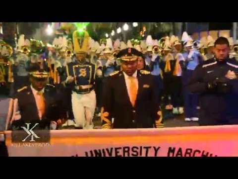 Southern University Marching Band @ the 2016 Bacchus Parade