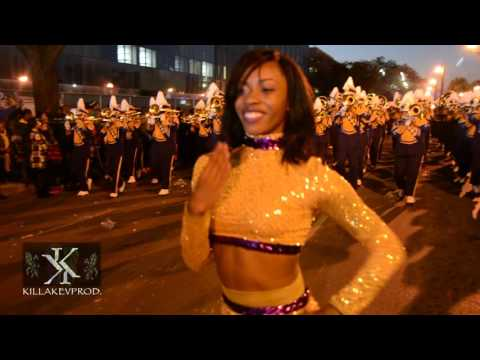 Alcorn State University Marching Band @ the 2016 Endymion Parade