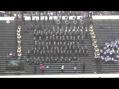 Talladega College Marching Band - Can't Be Tamed - 2016