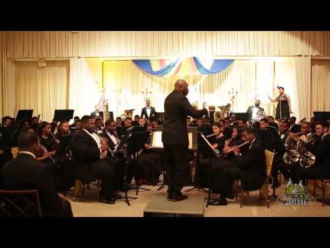 "Southern University Wind Ensemble 2016 ""When The Saints Go To Worship"""