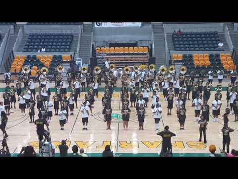 """NSU Spartan Legion Marching Band Family and Friends Day 2016 -""""Pancake House""""-""""Freak No Mo'"""""""