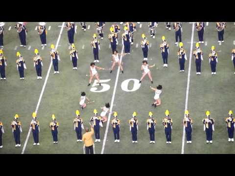 "Blue & Gold Marching Machine performing ""Love Don't Live Here Anymore"""