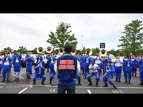 Hunters Lane High School Marching Band - Girl You Know It's True - 2017