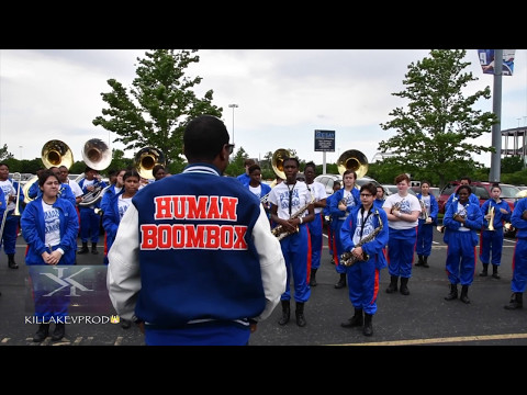 Hunters Lane High School Marching Band - Starboy - 2017
