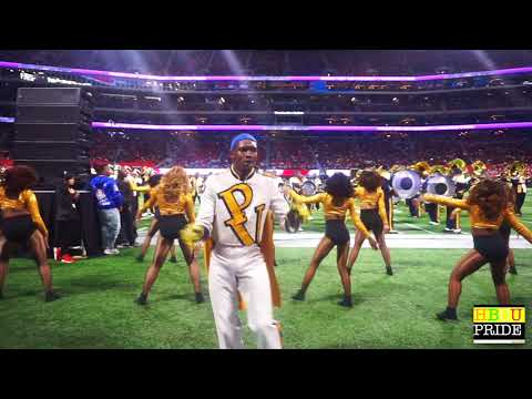 "PVAMU ""Marching Storm"" Drum Majors, Colangelo, Break It DOWN @ Honda 2018"
