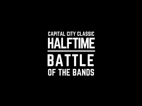 Capital City Classic 2017 - JSU vs Alcorn - Halftime Battle of the Bands in 4K