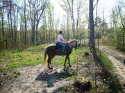 Donna on Mocha East Fork April 08