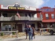 Debbe and Zen at True West