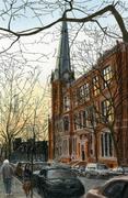 Church Twilight