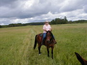 Me on Charlie at Maplewood SP in MN