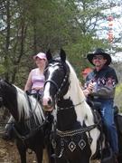 Hood and Carol ~ I love this horse Doc!
