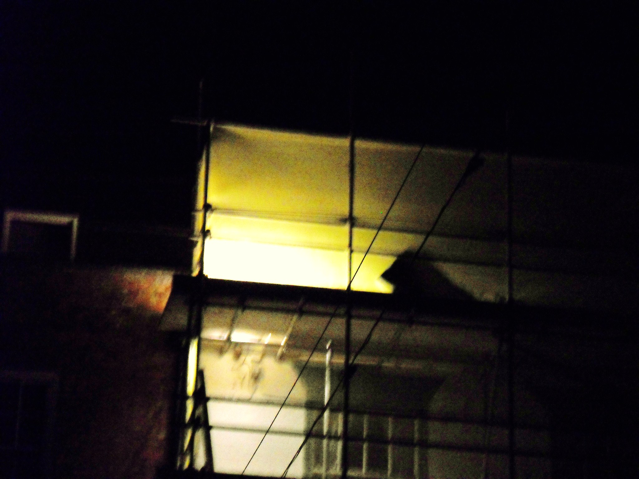097 scaffold (night)