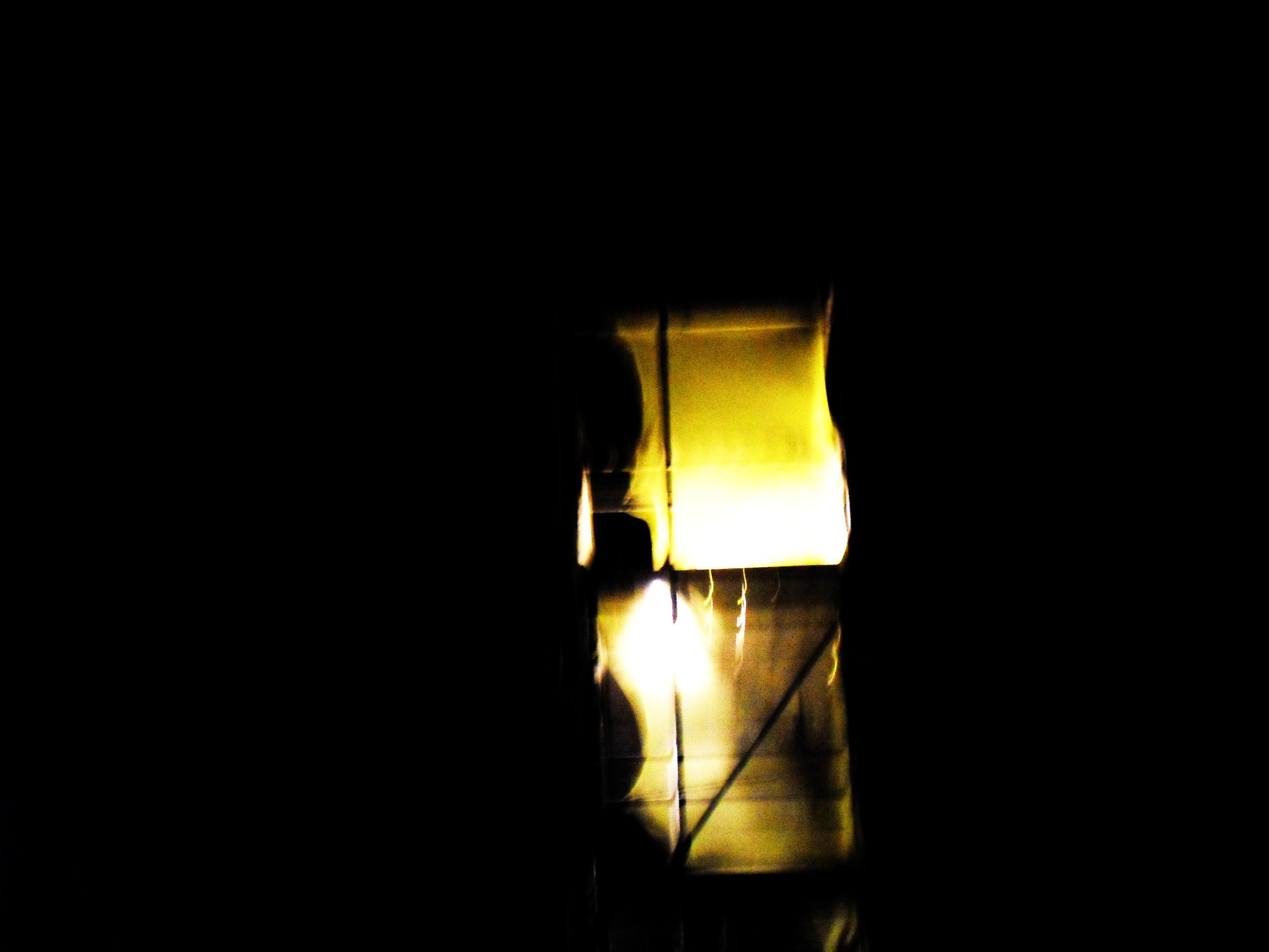 090 scaffold (night\)