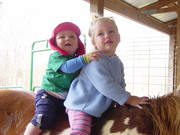 Jacie & Dayton at the barn